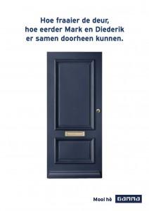 gamma deur inhaker